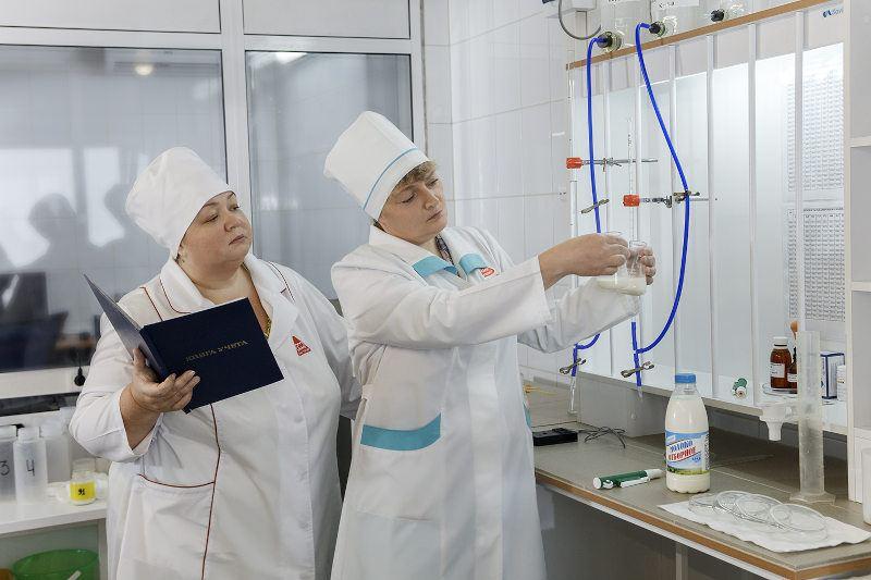 Лаборатория агрохолдинга Белозорие